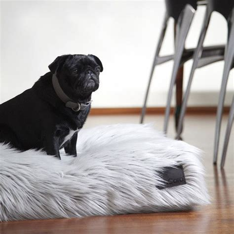 fur dog bed the capello faux fur dog bed by mia cara for the dog pinterest