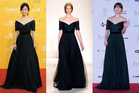 korean actress gown korean actress red dress fashion dresses