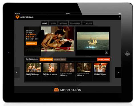 series de antena 3 modo salon antena 3 ofrece ya todos sus programas y series completas