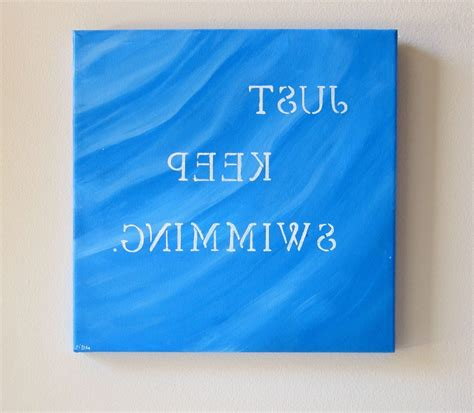 just keep swimming wall decor free print paper trail design 15 ideas of canvas wall art funny quotes