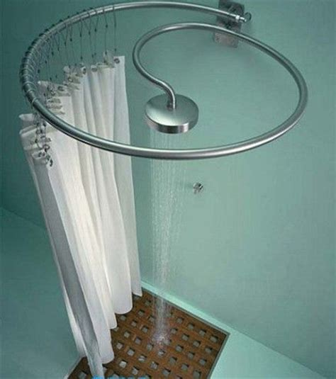 Outdoor Shower Curtain Rod by 1000 Ideas About Shower Rod On Curtain Rods