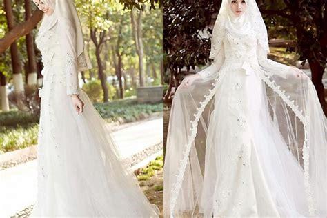 gaun pengantin muslim simple elegan gaun pengantin simple tapi elegan untuk muslimah gebeet com