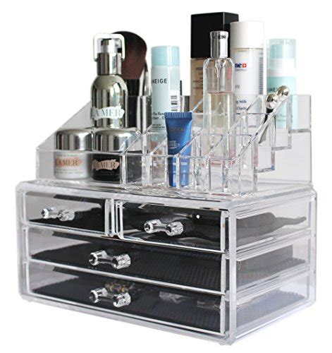 Makeup Bathroom Storage Sodynee 174 Acrylic Makeup Organizer Cosmetic Organizer Jewelry And Cosmetic Storage Display Boxes