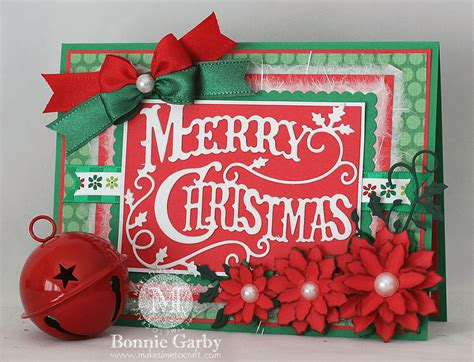 merry christmas card  bonnie garby cheery lynn designs inspiration blog