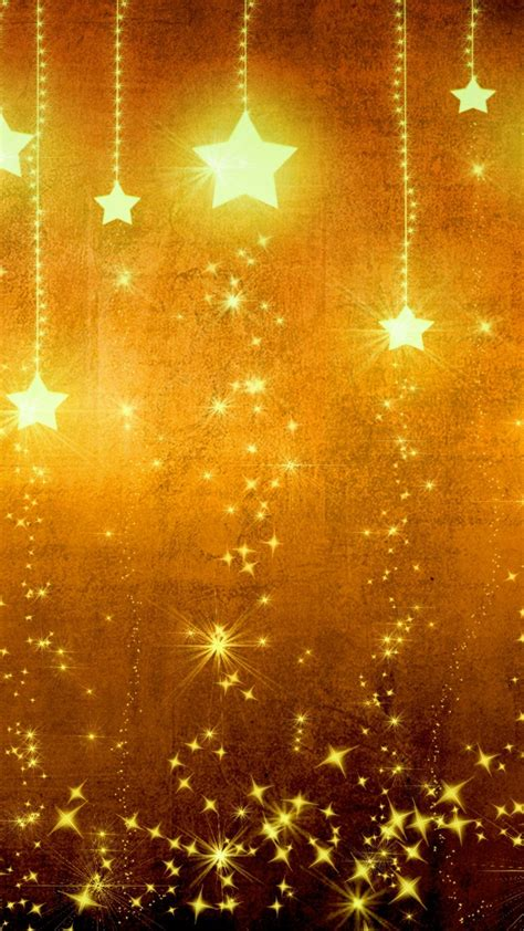wallpaper iphone navidad star gold holiday background brown yellow light texture