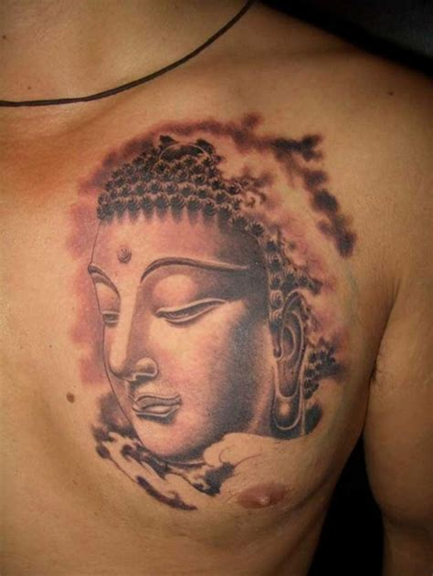 buddha tattoos on chest amazing tattoo