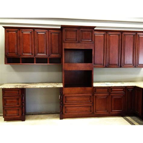 cabernet merlot antique cabinets cherry kitchen