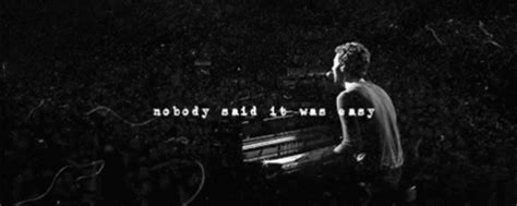 download mp3 coldplay nobody said it was easy coldplay nobody gif find share on giphy