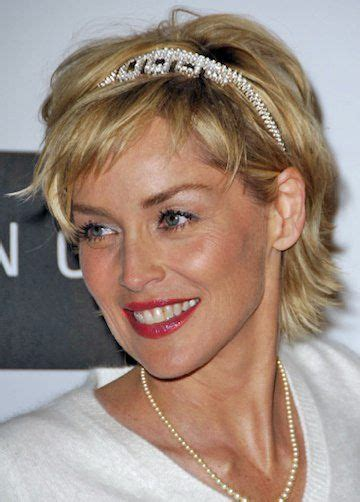 sharon stone hairband 176 best choppy shaggy layered haircuts for short