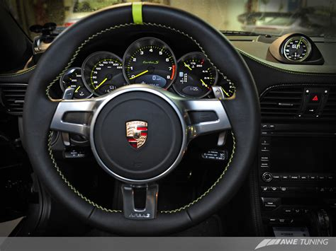Steering Wheel Phone Holder Black 2010 porsche edition 918 spyder gets the awe tuning treatment