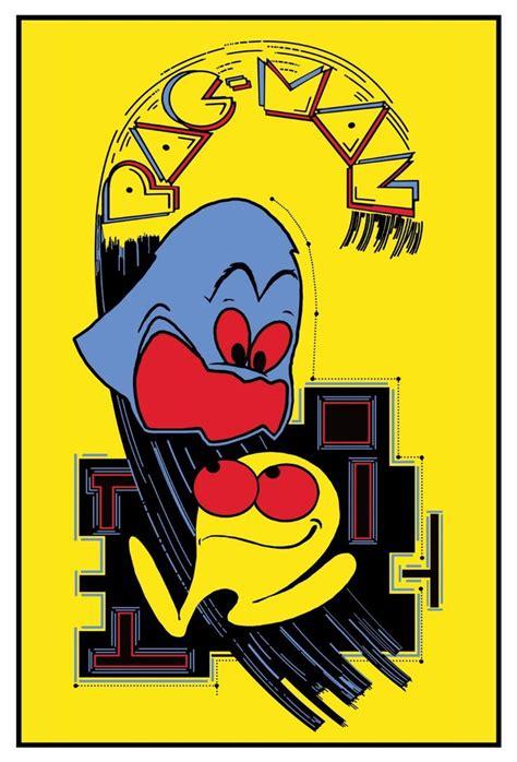 pac man arcade pac man arcade art namco video game