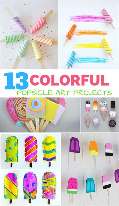 colorful popsicle 13 colorful popsicle projects for