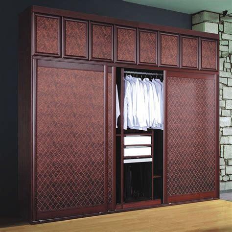 modernity badroom sliding door wooden clothes almirah
