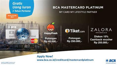 bca mastercard platinum bca mastercard platinum youtube
