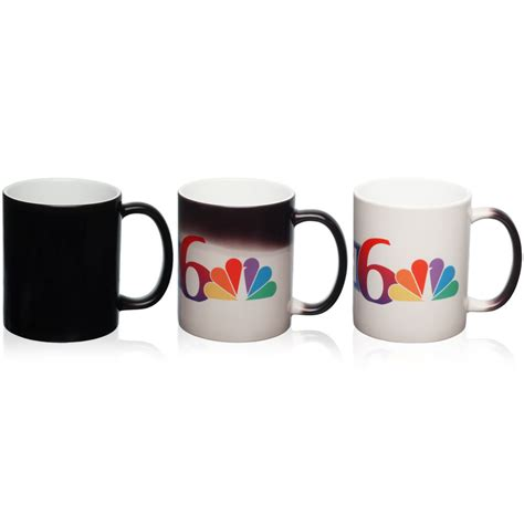 color changing mugs custom 11 oz magic photo mugs s7102bk discountmugs