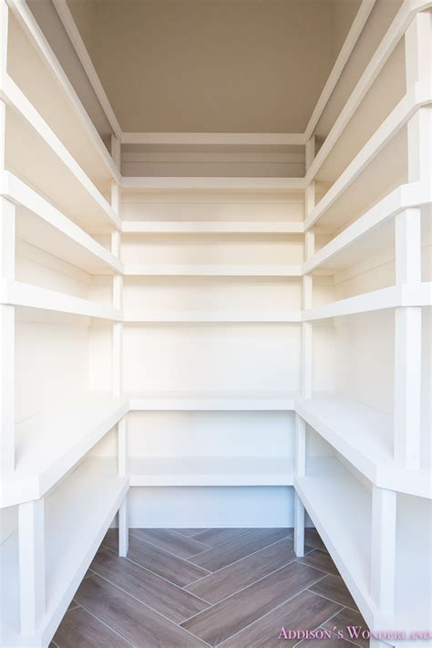 Built In Pantry Shelves by The Ultimate Pantry Layout Design S