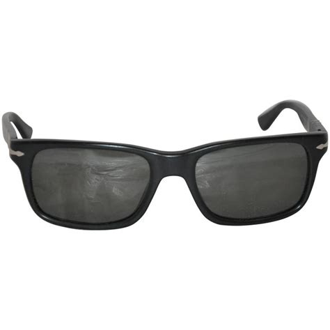 Persol Handmade Sunglasses - persol matte black with stainless steel made