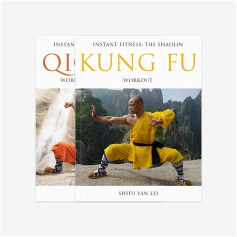 burning workouts book bundle books shaolin workout two book bundle qigong kung fu shifu