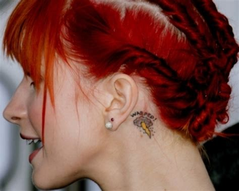 gallery for gt hayley williams portrait tattoo