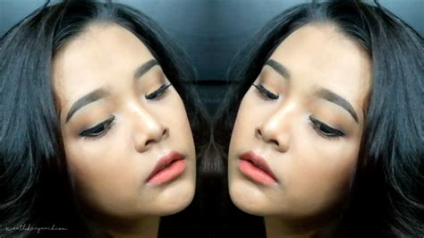 ririeprams beauty blogger indonesia tutorial alis natural ririeprams beauty blogger indonesia orange caramel makeup