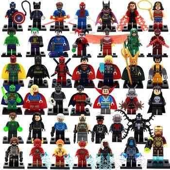 veinte figuras super heroes marvel dc $ 750.00 en