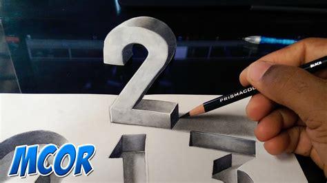 crear imagenes en 3d online gratis como hacer dibujos 3d dibujando n 250 meros en 3d youtube