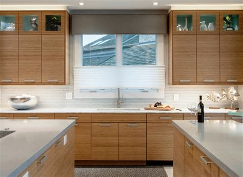 bamboo kitchen cabinet kitchen cabinet ideas for a modern classic look