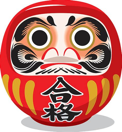 daruma clip art vector images amp illustrations istock