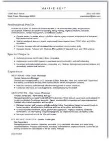 Resume Exles In Word Format by Sle Resume Maxine Kent Ms Word Scannable Format