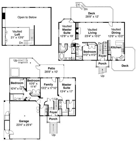 multi level home floor plans multi level home with 5 bedrooms 3141 sq ft house plan