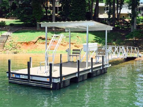 boat dock platform custom dock systems builds quality boat docks boat lifts