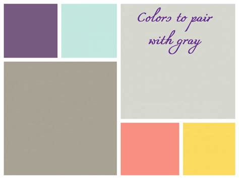 colors that go with grey what colors go with grey what color goes well with