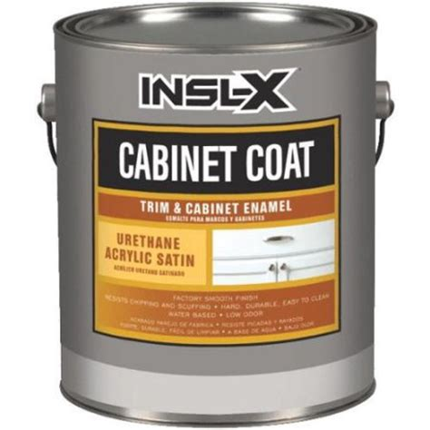 Cabinet Coat Reviews by Insl X Cc4510092 01 Cabinet Coat Enamel Sat White Cabinet