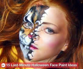 easy face paintings for halloween simple halloween face paint ideas images amp pictures becuo