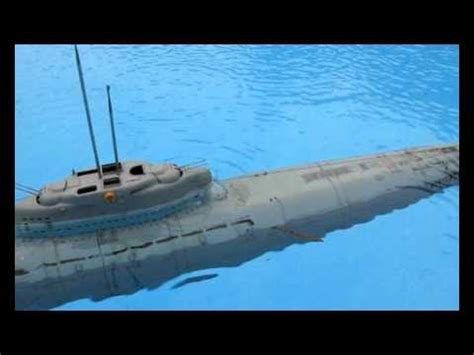 types of boats starting with h rc u boot u boat type xxi u 2540 scale 1 72 test youtube