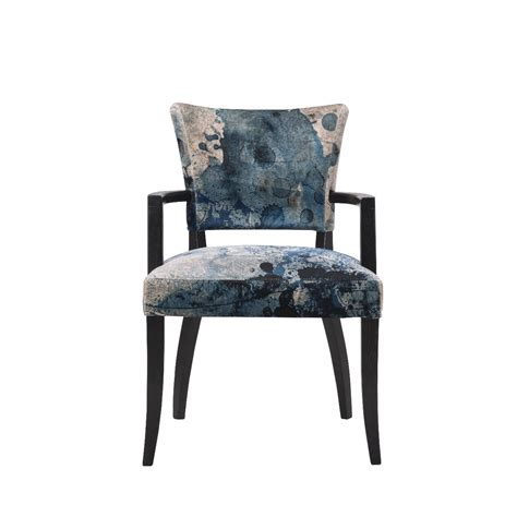 Dining Chairs With Arms Uk Timothy Oulton Mimi Dining Chair With Arms Black Oak Legs