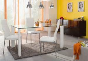 table de salle a en verre conforama