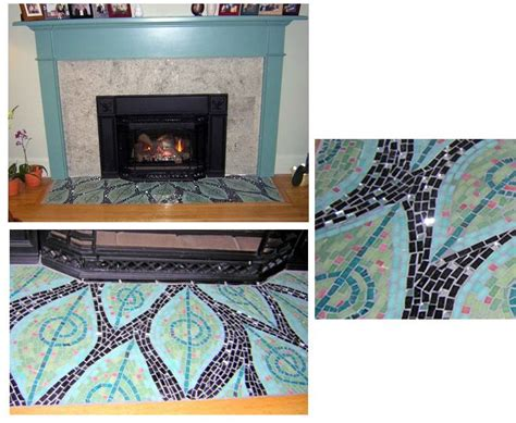 Mosaic Fireplace Hearth by The 69 Best Images About Mosaic Ideas On