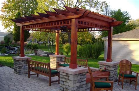 Patio Arbor Designs Pergola And Patio Cover New Berlin Wi Photo Gallery Landscaping Network