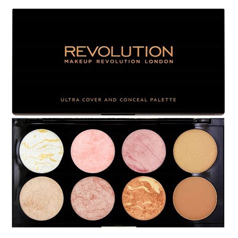 Makeup Revolution Contour Palette makeup revolution ultra blush contour palette golden