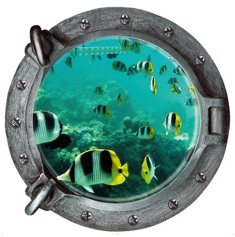 Wall Word Art Stickers image gallery submarine window