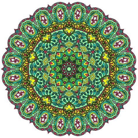 imagenes de mandalas verdes c 243 mo pintar mandala muy f 225 cil en casa