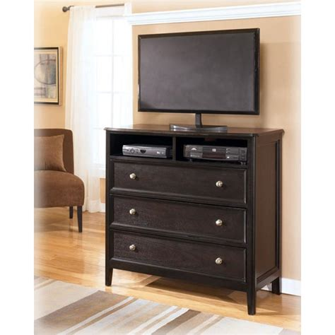 Carlyle Bedroom Furniture Furniture Wyatt Media Chest Frontier Open