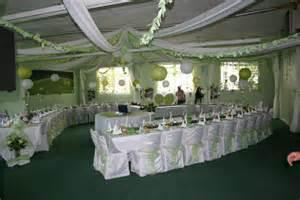 d 233 coration mariage vert anis et blanc le de