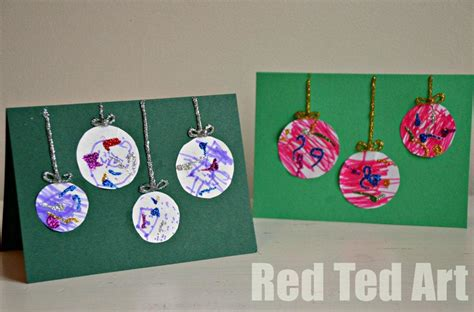 christmas cards ideas preschool top five crafts from ted of one