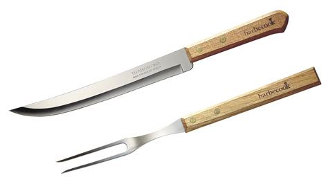 Steel Patio Set Set Knife Amp Fork 33 Cm The Barbecue Store Spain