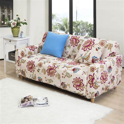 floral couch covers popular elastic sofa cover buy cheap elastic sofa cover