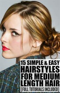 how to style meduim length american hair 15 hairstyles for medium length hair