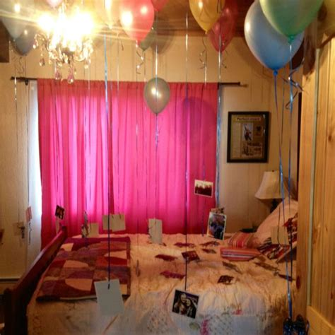 how to surprise your man in bed surprised decorated my best friends bedroom for her