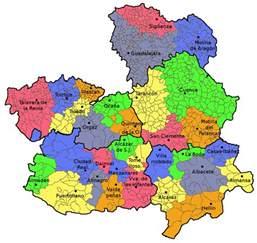 La Mancha Castile La Mancha Tourism Map Area Map Of Spain Tourism